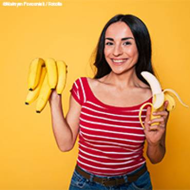 Von wegen Affenkotelett: Gut, besser – Banane!