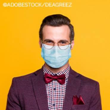 Manchmal lästig, meistens Pflicht: Die Maske für Brillenträger